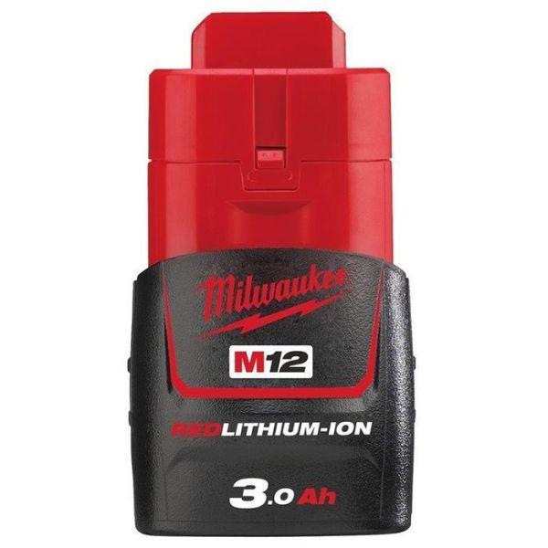 Li-Ion batteri Milwaukee M12 B3 3,0Ah