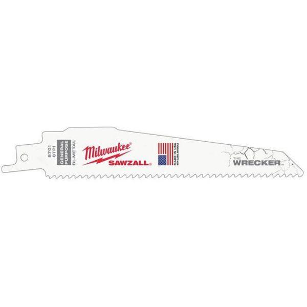 Milwaukee 48005701 Tigersågblad 5-pack