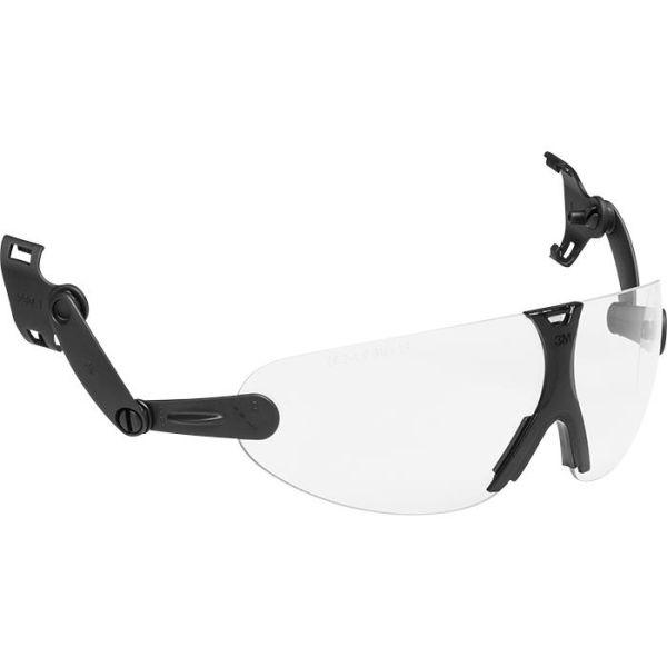 Ögonskydd 3M Peltor V9C integrerat, klar lins