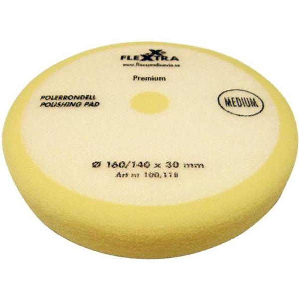 Polerrondell Flexxtra 100118 middels hard, 160 mm