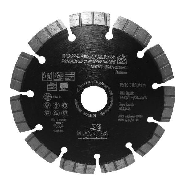 Flexxtra 100213 Diamantklinga 140 mm