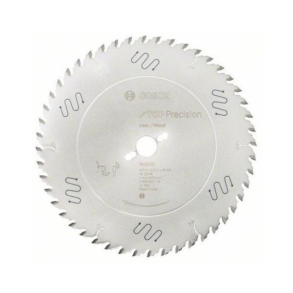 Sågklinga Bosch Top Precision Best for Wood 48T