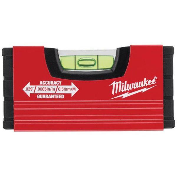 Vattenpass Milwaukee MINI 10 cm