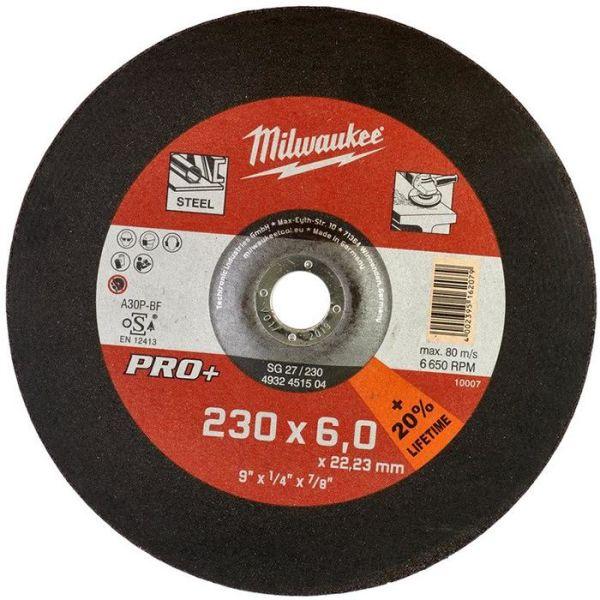 Milwaukee SG 27 PRO+ Kapskiva 230×6 mm