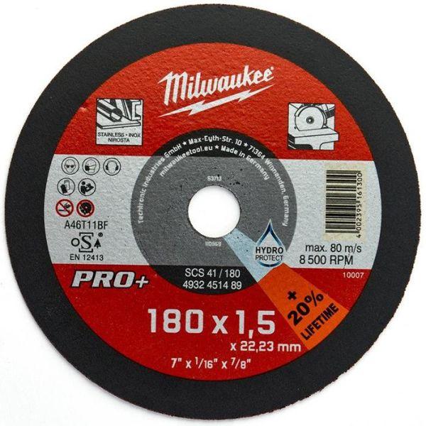 Milwaukee SCS 41 PRO+ Kapskiva 180×15 mm
