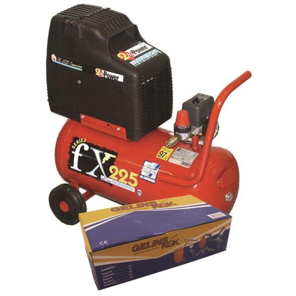 Kompressor Fiac FX225 Kit med tillbehörssats