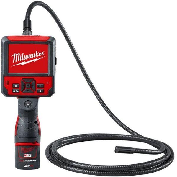 Tutkimuskamera Milwaukee M12 ICAV3-201C sis. 2,0 Ah:n akun ja laturin