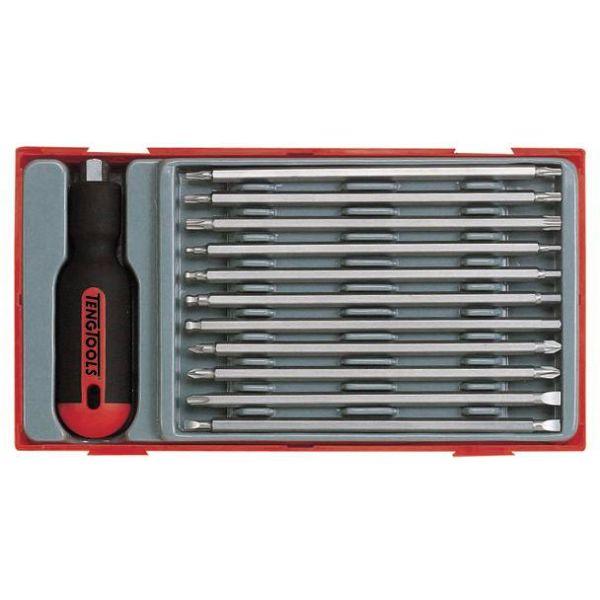 Skruvmejselsats Teng Tools TTMD12D 12 delar