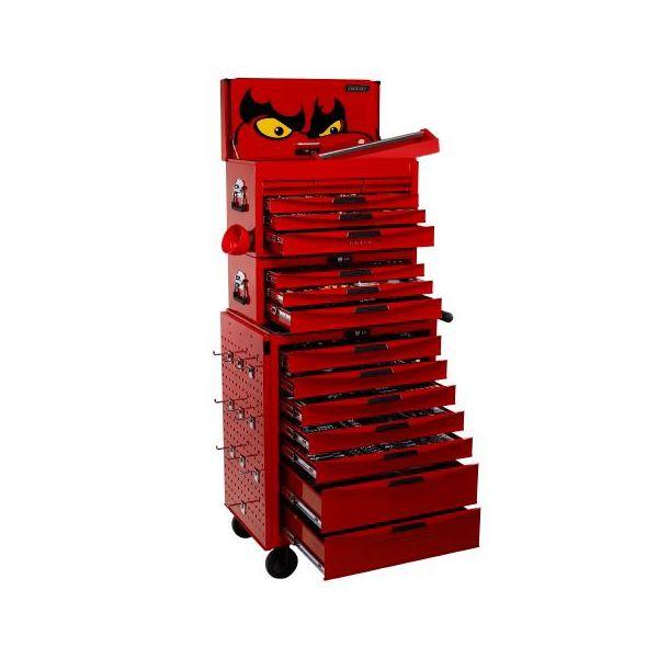 Verktygsvagn Teng Tools TCMM1055N med verktygssats, 1055 delar