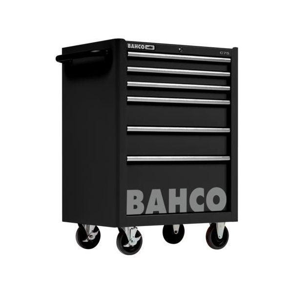 Verktygsvagn Bahco 1475K6BLACK utan verktygssats