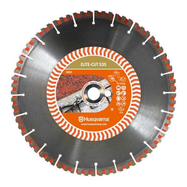 Diamantklinga Husqvarna 579811520 ELITE-CUT S35 350x25,4 mm