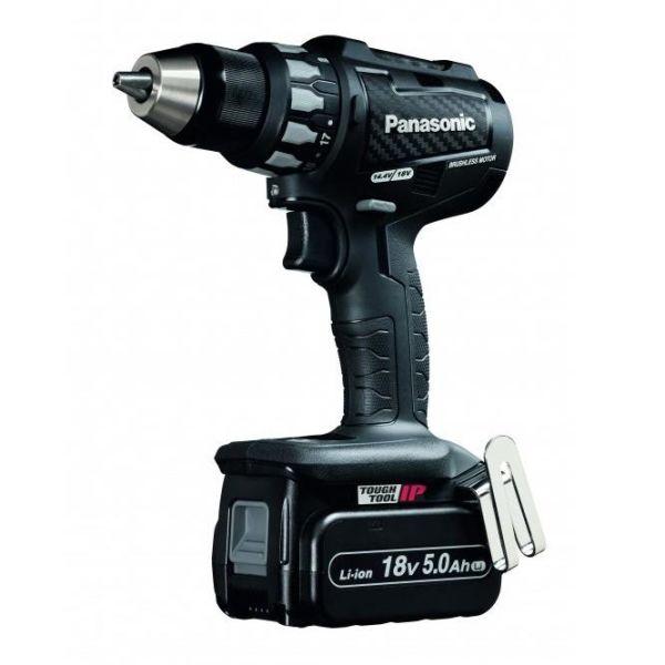Borrskruvdragare Panasonic EY74A2LJ2G32 med 5,0Ah batterier och laddare