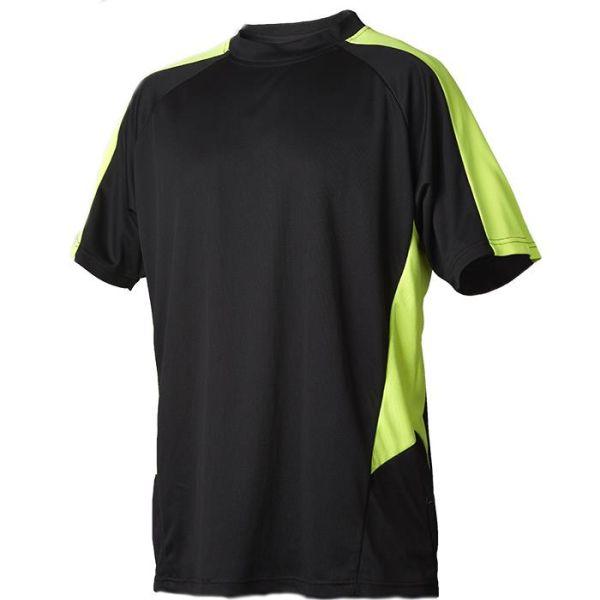T-shirt Vidar Workwear V71005104 gul/svart S