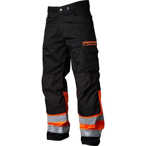 Kuva Vidar Workwear V500552D096 Vyötäröhousut oranssi/musta D96