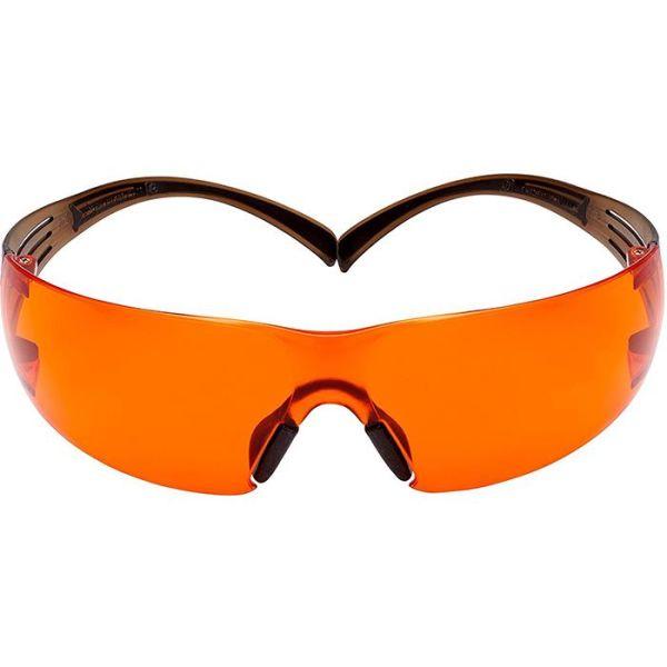 Skyddsglasögon 3M SF406SGAF-BLA orange