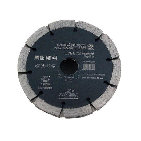Fogfräsklinga Flexxtra 100.008 125 mm