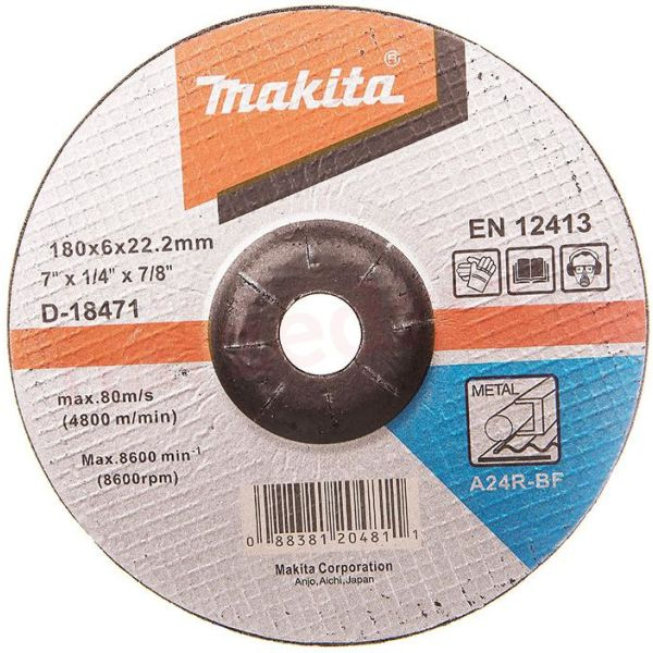 Makita D-18471 Slipskiva 180 mm