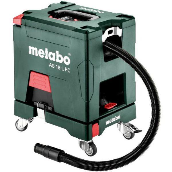 Kuva Metabo Set AS 18 L PC Pölynimuri ilman akkuja & laturia, sis rulla-alusta