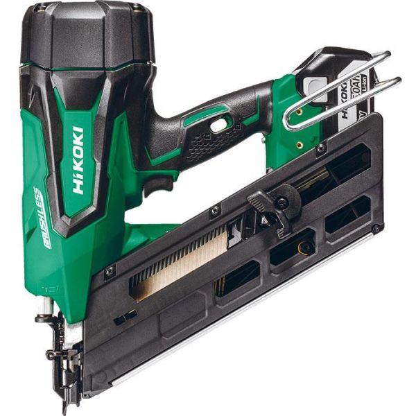 Spikverktyg HiKOKI NR1890DBCL med 5,0Ah batterier och laddare