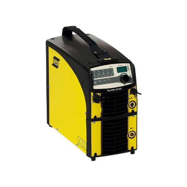Tigsveis ESAB CADDY TIG 2200I AC/DC TA33 Kit med brenner og MMA-kit, 1-fase