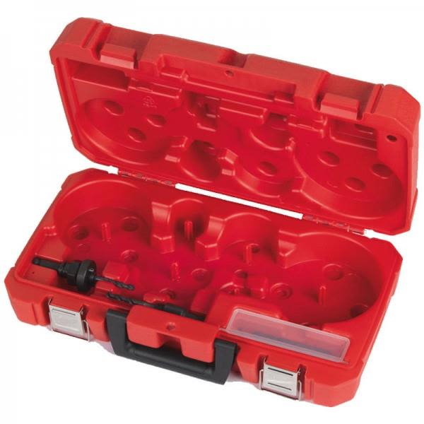 Väska Milwaukee 4932430327 för hålsågar, med adaptrar