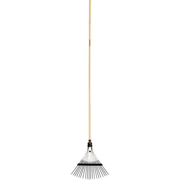 Lövräfsa Fiskars 5170 med 20 pinnar, svart