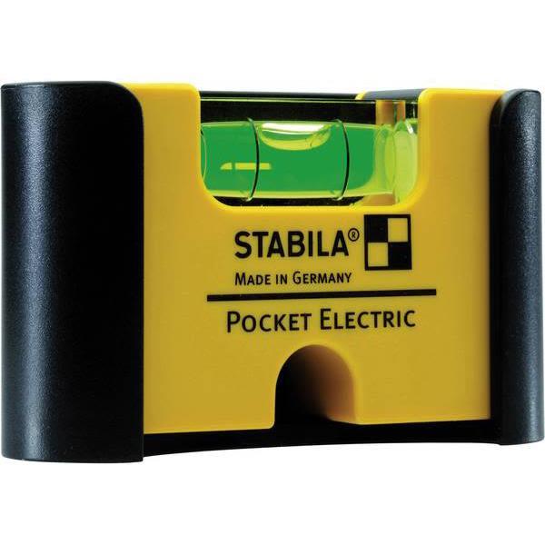 Fickvattenpass Stabila Pocket Electric