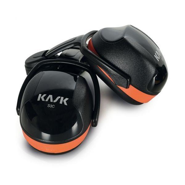 Hørselvern KASK SC3 oransje, høy demping