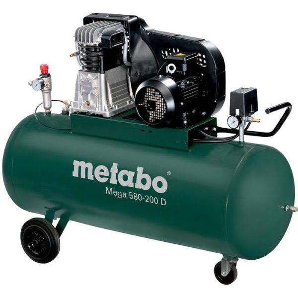 Kompressor Metabo Mega 580-200 D 200 liter
