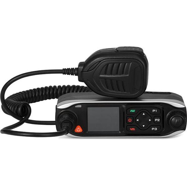 Mobiiliradio SVB POC M50 GPS/WiFi, Näytöllä
