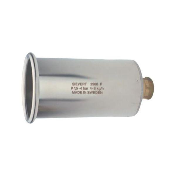 Kraftbrännare Sievert Pro 296001 Ø 60 mm, stål