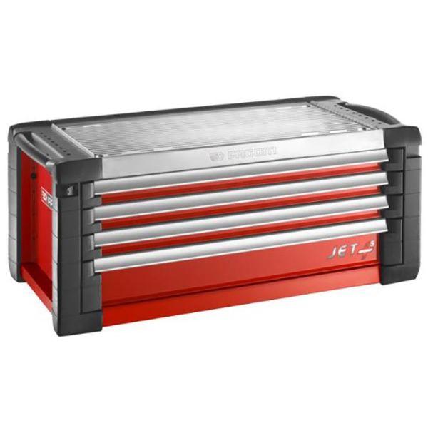 Facom JET.C4M5 Topp-låda röd 4 lådor, 5 moduler/låda
