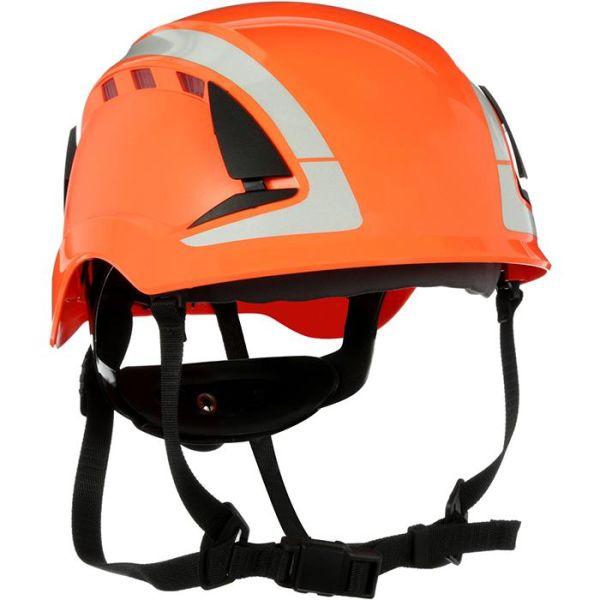 Skyddshjälm 3M SecureFit X5007V dubbla godkännande, ventilerad, reflex Orange