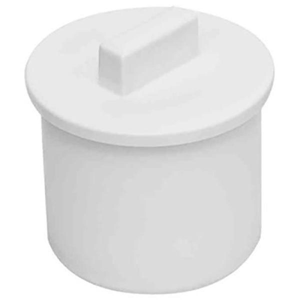 Propp Faluplast 3003054002 för muff, vit, 40 mm