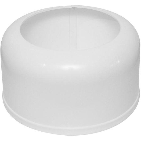 Golvhuv Faluplast 3003060302 för WC/PVC-rör