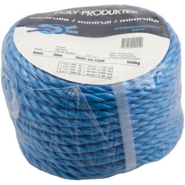 Allroundrep Poly-Produkter 3606103306 3-slaget, 30 m