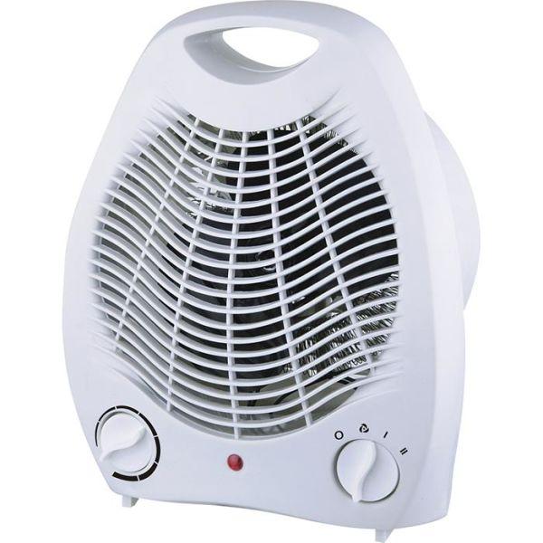 Lämpöpuhallin Gelia 4002000051 muovia, valkoinen