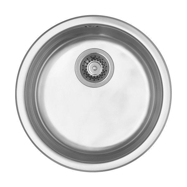 Diskho Contura Rondette RBE 4416-K rund, med korgventil