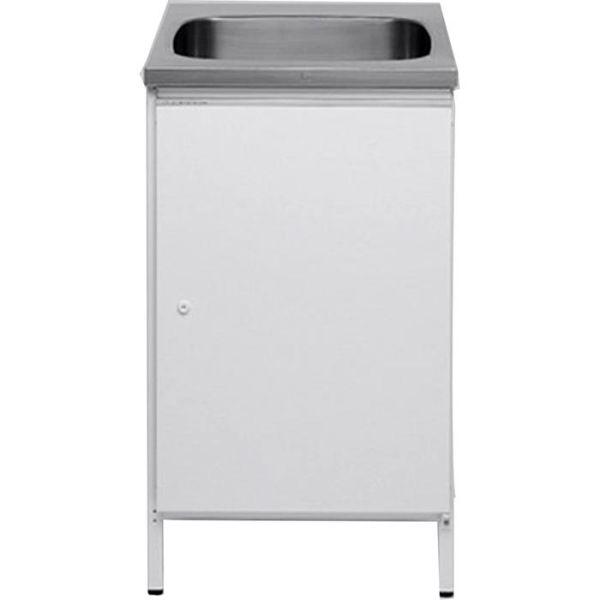 Tvättbänk Contura CAB 5 vit, med förvaringsskåp