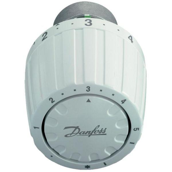 Servicetermostat Danfoss RA/VL 2950 hvit, 7-28°C