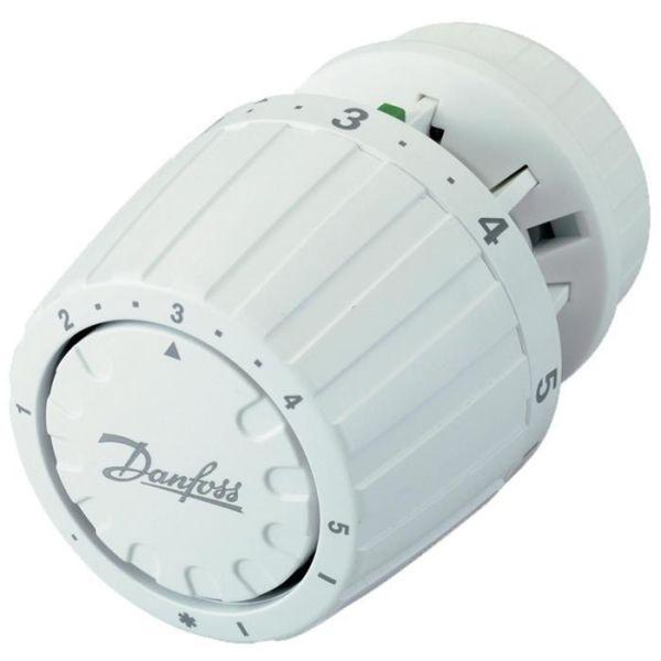 Regulatordel Danfoss RA 2990 vit, obegränsad, för villa
