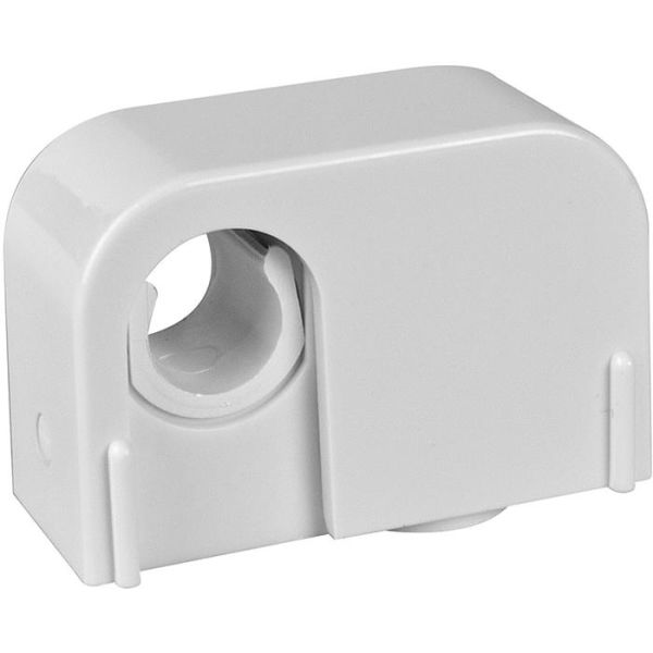 Rörklammer Faluplast 14100 enkel, med snäpplock, 12/15 mm