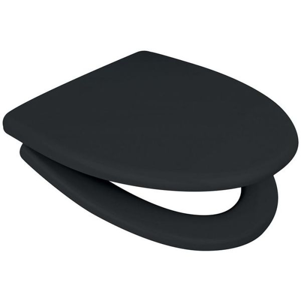 WC-sits Arrow Onyx Cera-Sign svart, softclose