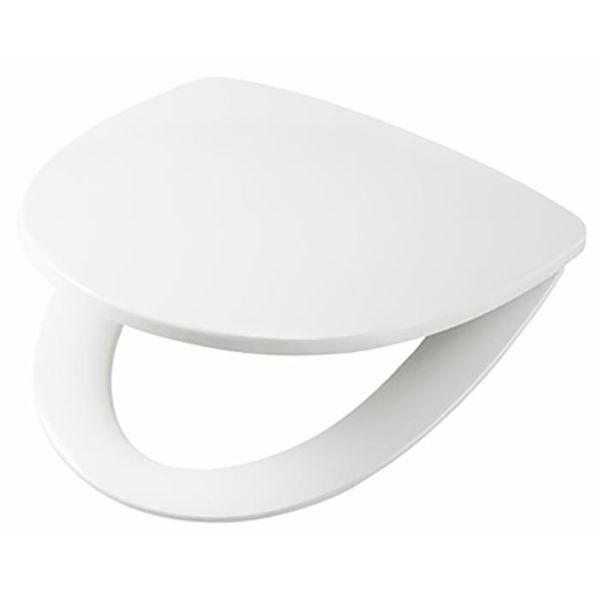 Toalettsete Ifö Sign hardplastsete, toppmontert Hvit