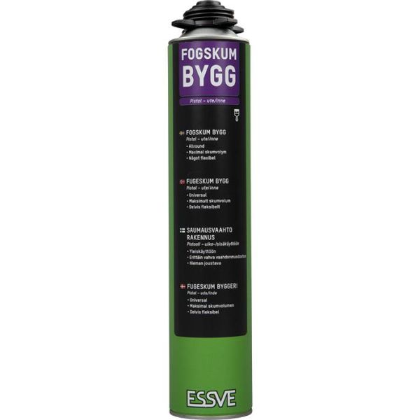 ESSVE Bygg Fogskum gul, 850 ml