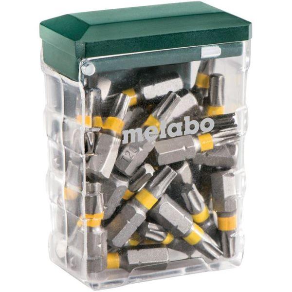Ruuvauskärkirasia Metabo 626712000 TX 20, 25 osaa