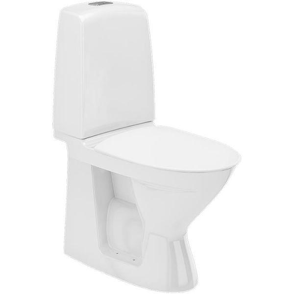 Toalettstol Ifö Spira Rimfree 626008811 med mjuksits
