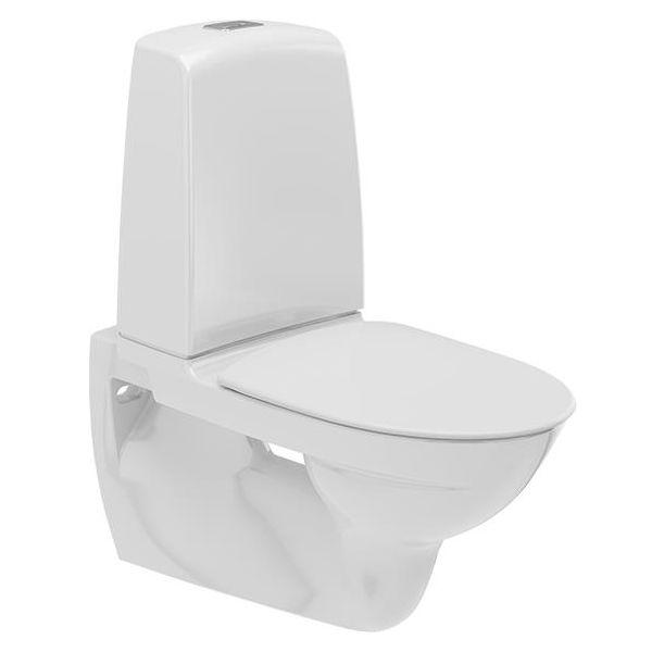 Ifö Spira 629308811 Toalettstol vägghängd med mjuksits