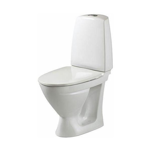 Toalettstol Ifö Sign 686206517 med mjuksits, enkelspolning