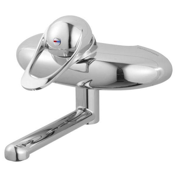 FM Mattsson 9000E 8134-0150 Tvättställsblandare med underliggande pip